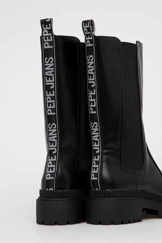 Pepe Jeans - Sztyblety Bettle City Cholewka: Materiał syntetyczny, Wnętrze: Materiał syntetyczny, Materiał tekstylny, Podeszwa: Materiał syntetyczny