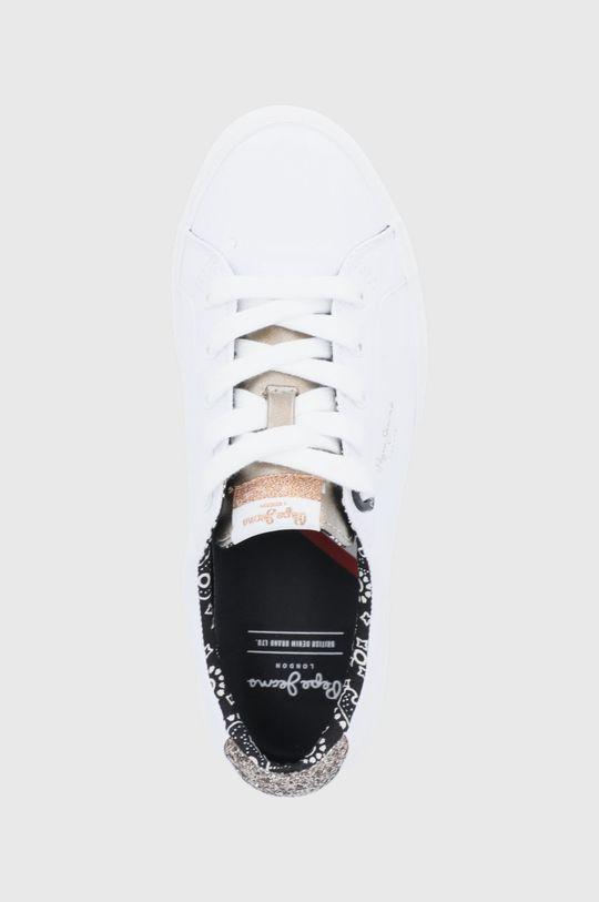 biały Pepe Jeans - Tenisówki Kenton Plain