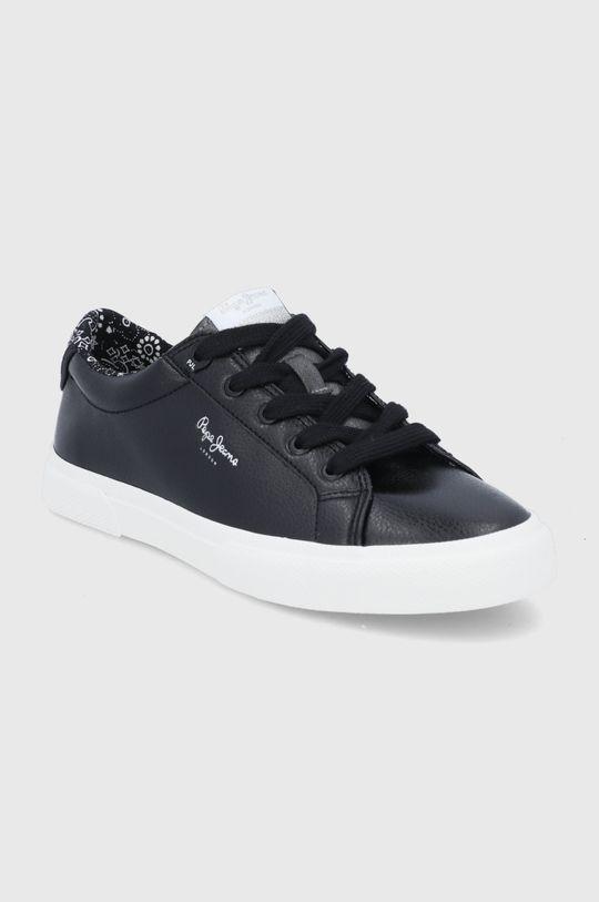 Pepe Jeans - Tenisówki Kenton Plain czarny