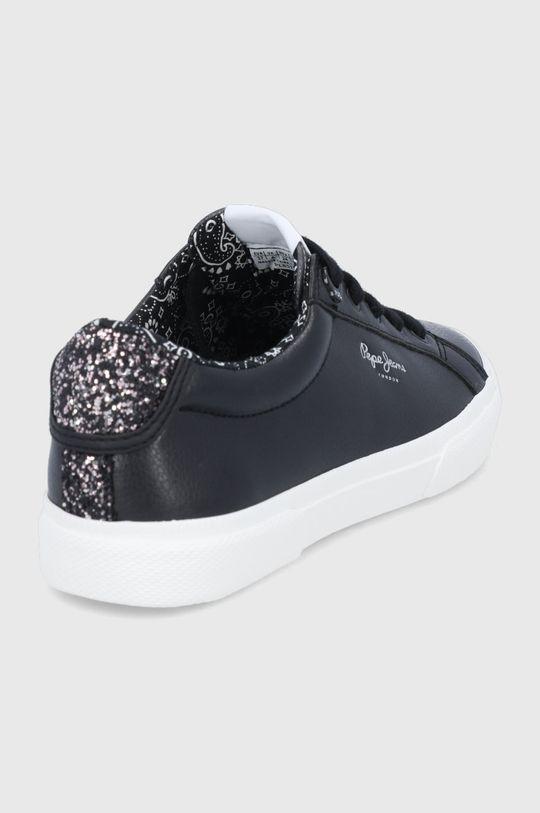 Pepe Jeans - Tenisówki Kenton Plain Cholewka: Materiał syntetyczny, Wnętrze: Materiał tekstylny, Podeszwa: Materiał syntetyczny