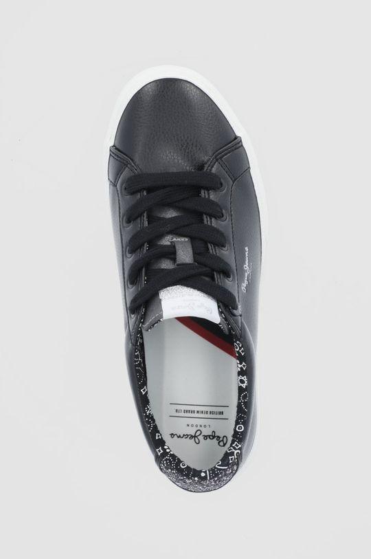 czarny Pepe Jeans - Tenisówki Kenton Plain