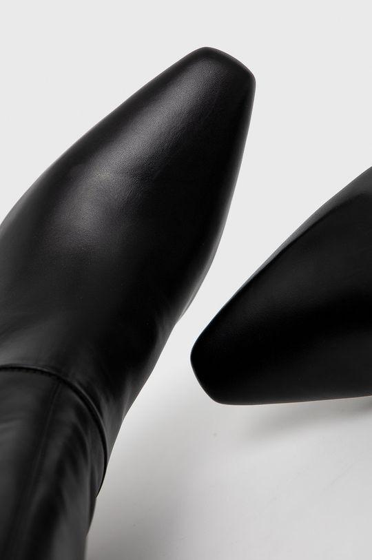 czarny Sisley - Kozaki skórzane