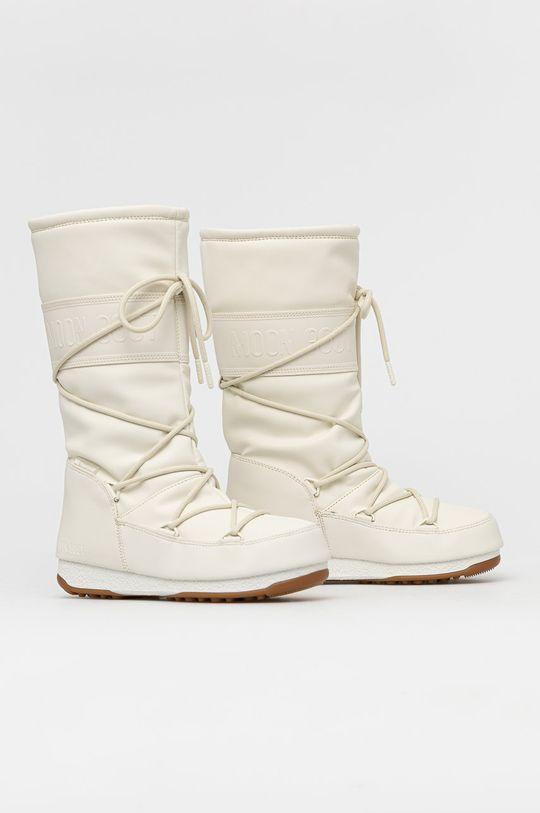 Moon Boot - Śniegowce Rubber kremowy