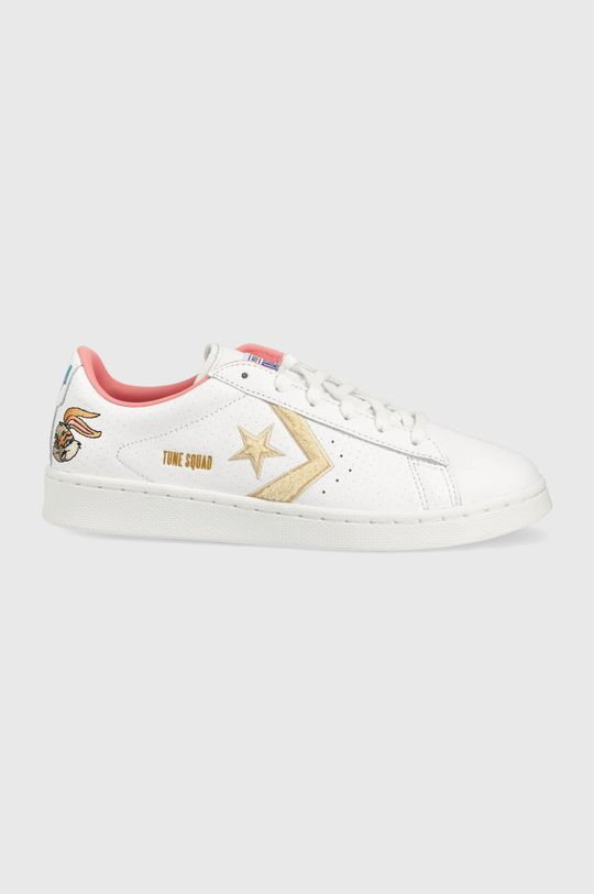 biały Converse - Tenisówki skórzane x SPACE JAM Damski