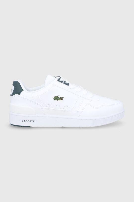 biały Lacoste - Buty T-Clip Damski