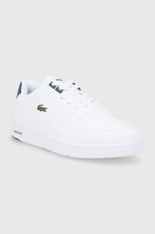 Lacoste - Buty T-Clip biały