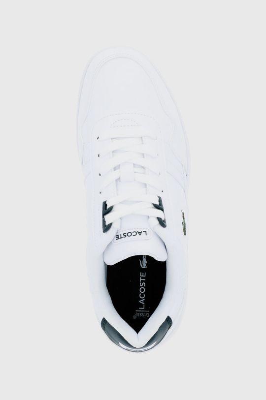 biały Lacoste - Buty T-Clip