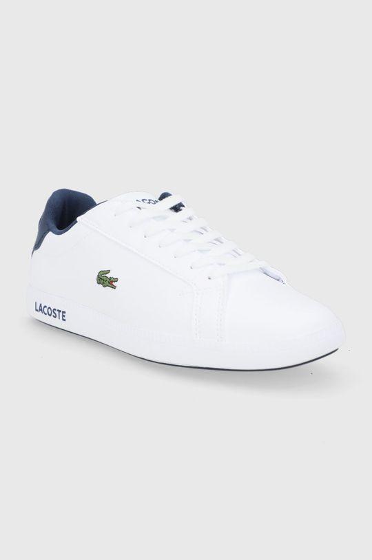 Lacoste - Buty Graduate biały