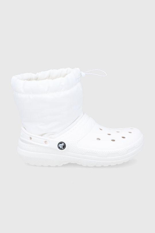 biały Crocs - Śniegowce Damski