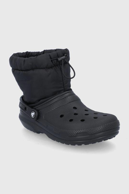 Crocs - Śniegowce czarny
