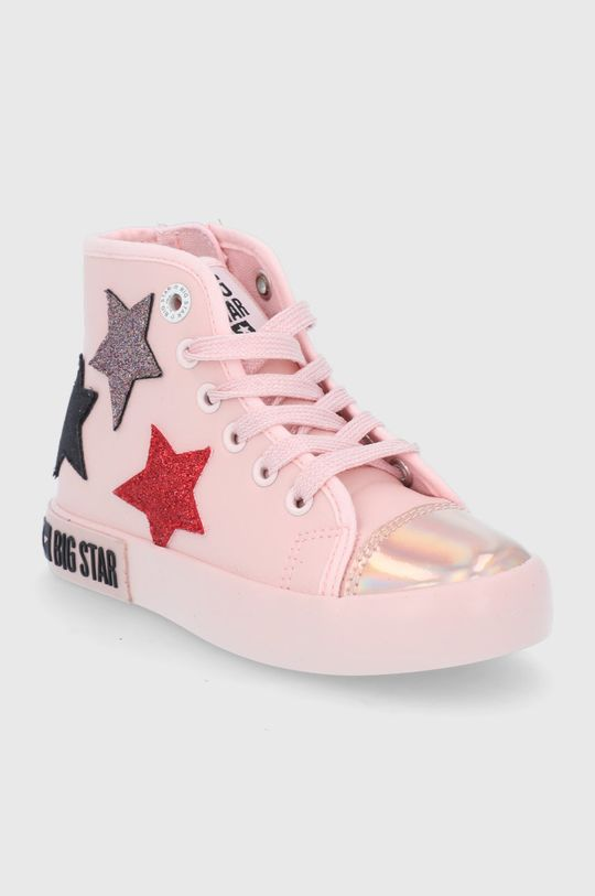 Big Star - Trampki dziecięce różowy