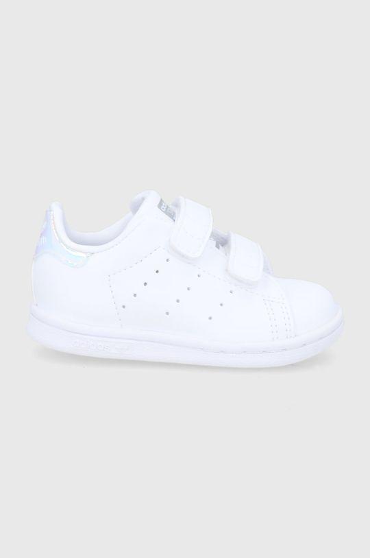 bílá adidas Originals - Dětské boty Stan Smith CF I Dívčí