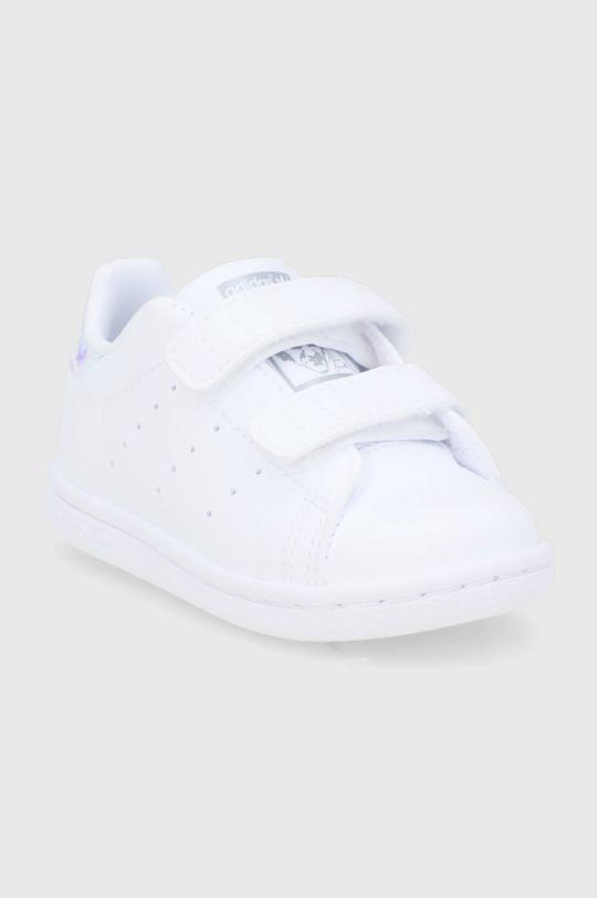 adidas Originals - Dětské boty Stan Smith CF I bílá