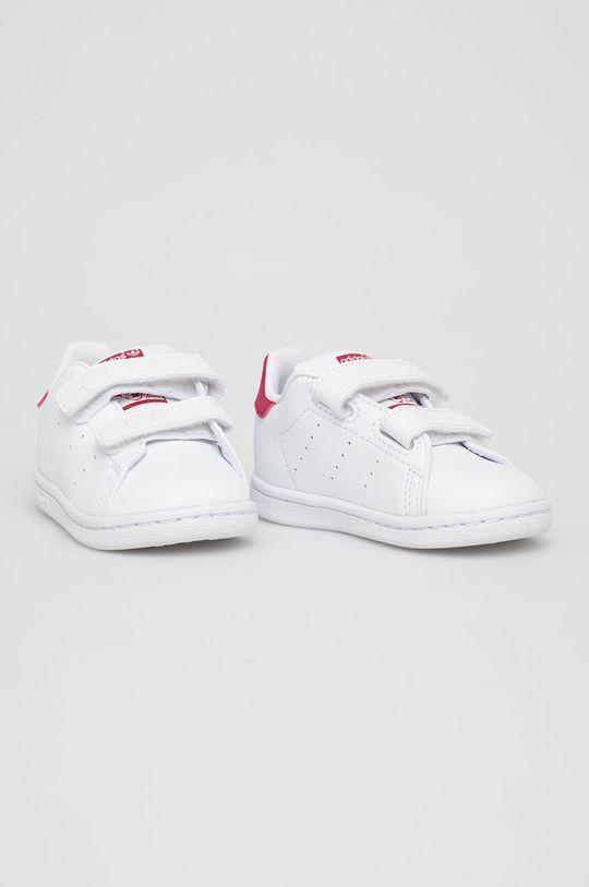 adidas Originals - Buty dziecięce Stan Smith CF I biały