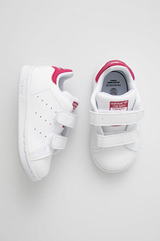 adidas Originals - Buty dziecięce Stan Smith CF I Dziewczęcy