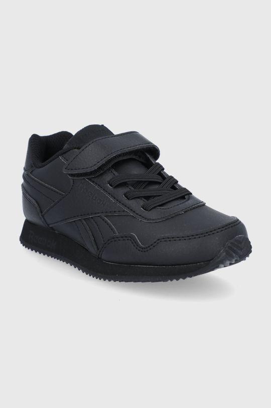 Reebok Classic - Detské topánky Royal CLJOG čierna