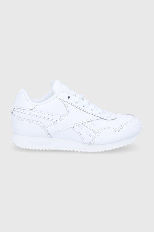 biały Reebok Classic - Buty dziecięce Royal CLJOG 3.0 Dziewczęcy