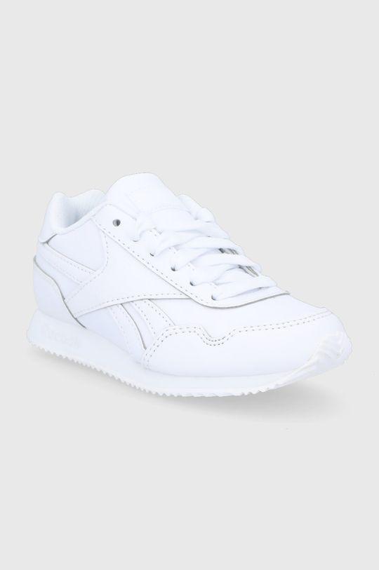 Reebok Classic - Buty dziecięce Royal CLJOG 3.0 biały