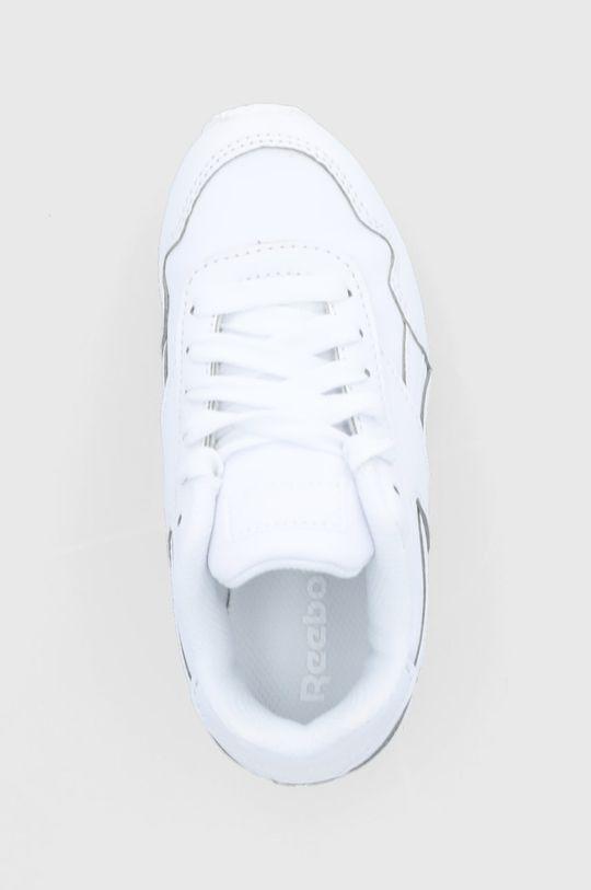 biały Reebok Classic - Buty dziecięce Royal CLJOG 3.0