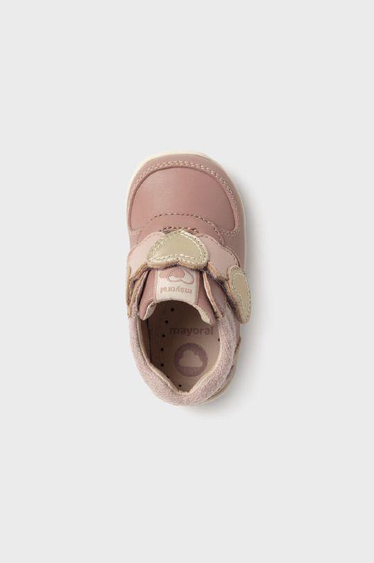 pastelowy różowy Mayoral - Półbuty dziecięce