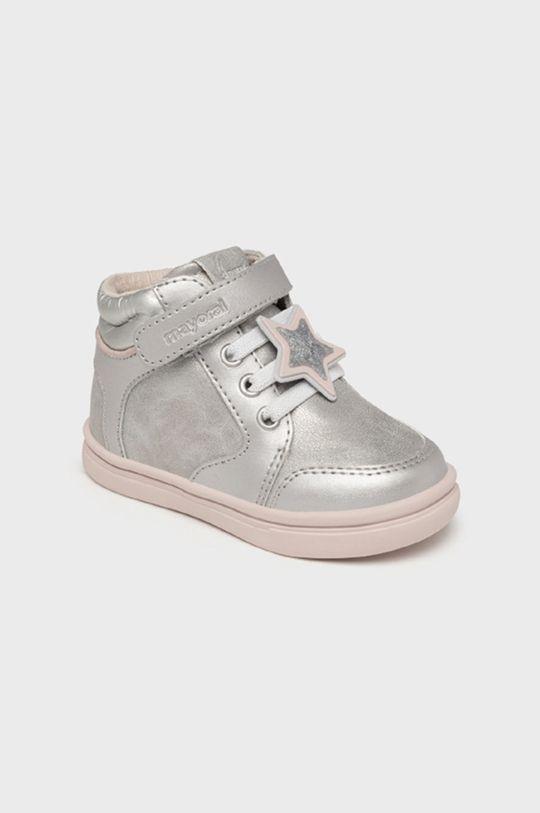 argintiu Mayoral - Pantofi copii De fete