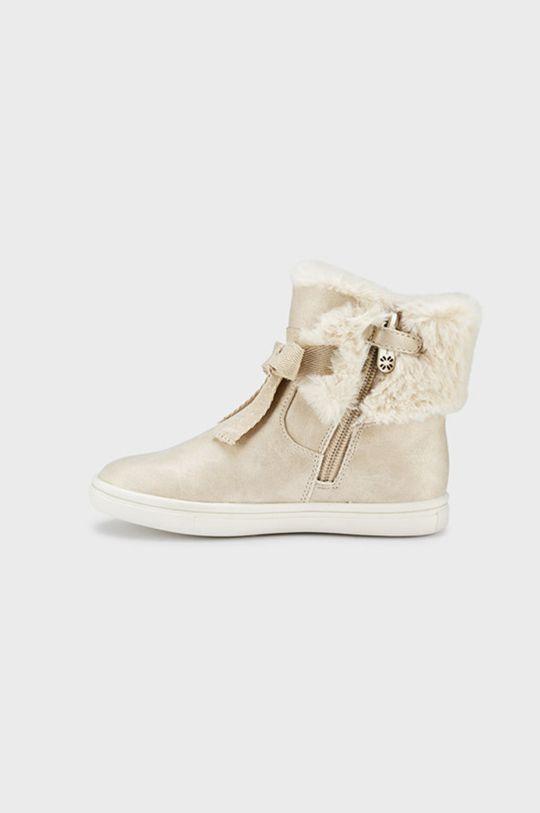 Mayoral - Detské topánky zlatá