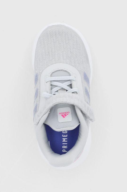 šedá adidas Performance - Dětské boty Run El I