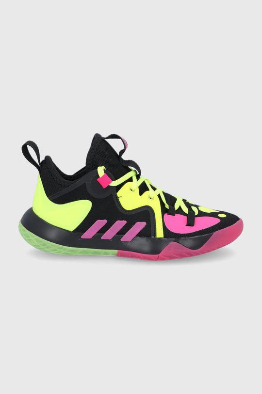 černá adidas Performance - Dětské boty Harden Stepback 2 Dívčí