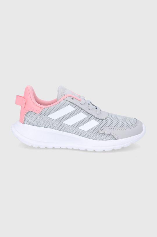 szary adidas - Buty dziecięce Tensaur Run Dziewczęcy