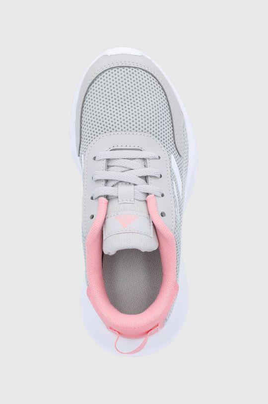 szary adidas - Buty dziecięce Tensaur Run