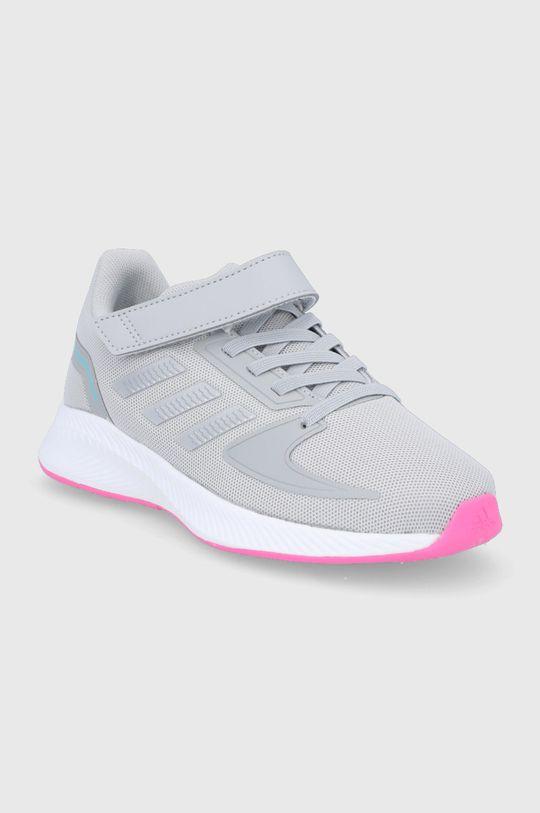 adidas - Dětské boty Runfalcon 2.0 šedá