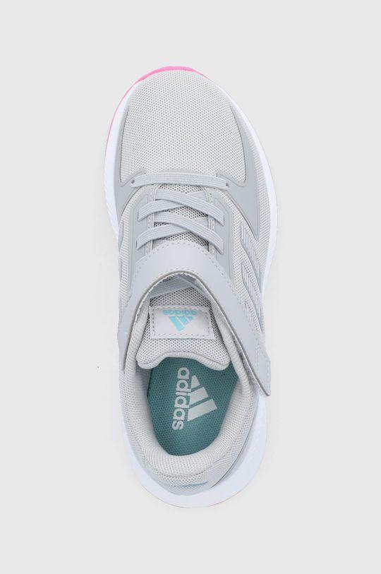 šedá adidas - Dětské boty Runfalcon 2.0