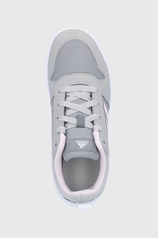 szary adidas - Buty dziecięce Tensaur