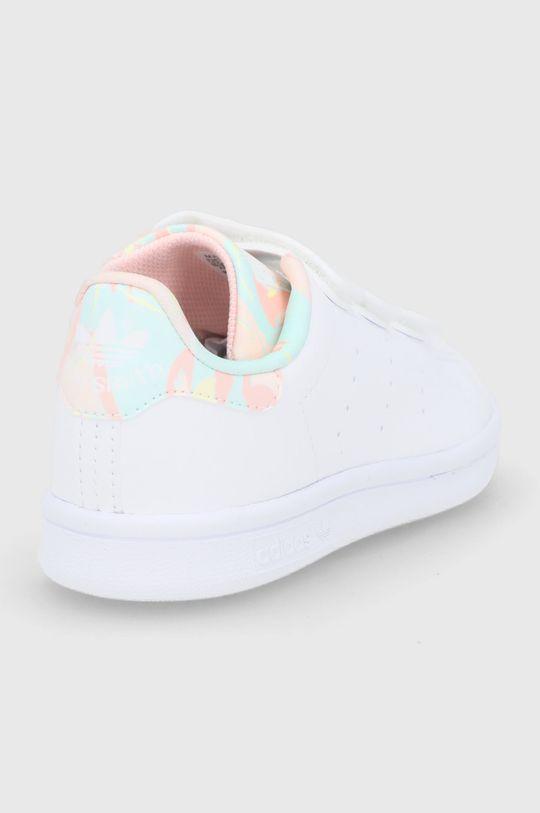 adidas Originals - Dětské boty STAN SMITH CF C  Svršek: Umělá hmota Vnitřek: Textilní materiál Podrážka: Umělá hmota