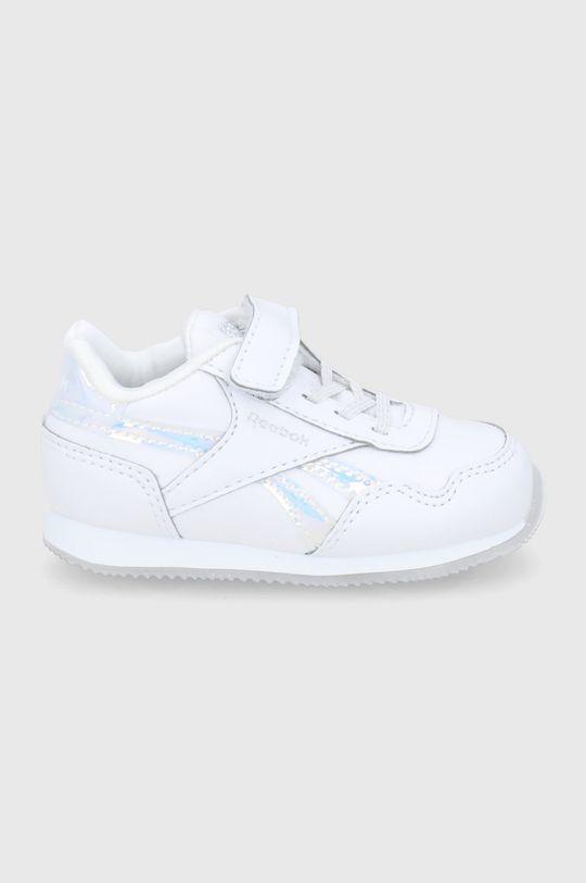 biały Reebok Classic - Buty dziecięce Royal Classic Jogger 3.0 Dziewczęcy