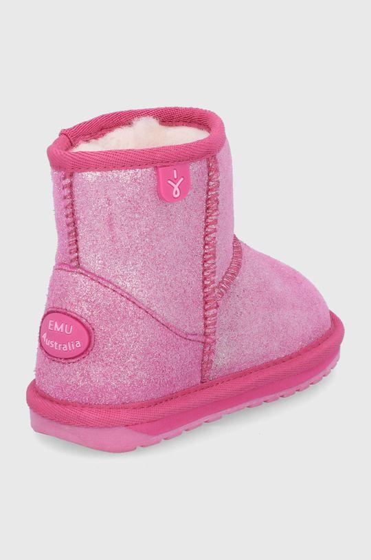 Emu Australia - Zimné topánky Wallaby Mini Metallic  Zvršok: Prírodná koža Vnútro: Textil Podrážka: Syntetická látka