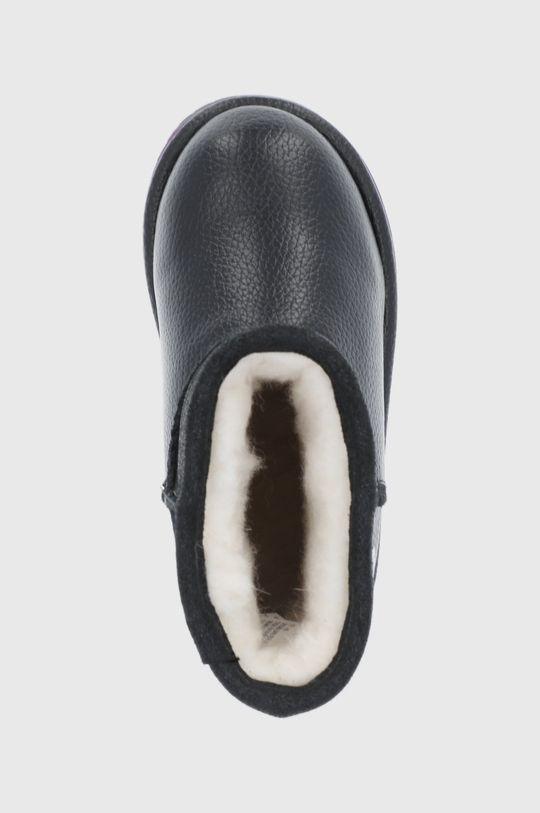 czarny Emu Australia - Śniegowce skórzane dziecięce Sparkle Trigg