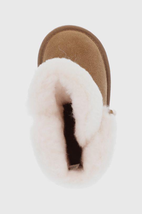złoty brąz Emu Australia - Śniegowce zamszowe dziecięce Burnet
