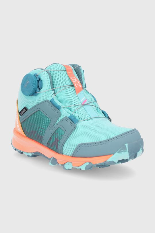 adidas Performance - Buty dziecięce Terrex Boa Mid R.Rdy turkusowy