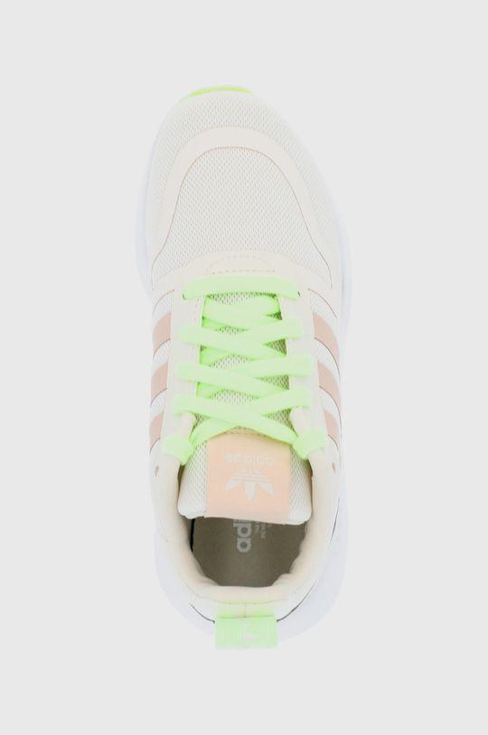 kremowy adidas Originals - Buty dziecięce Multix J