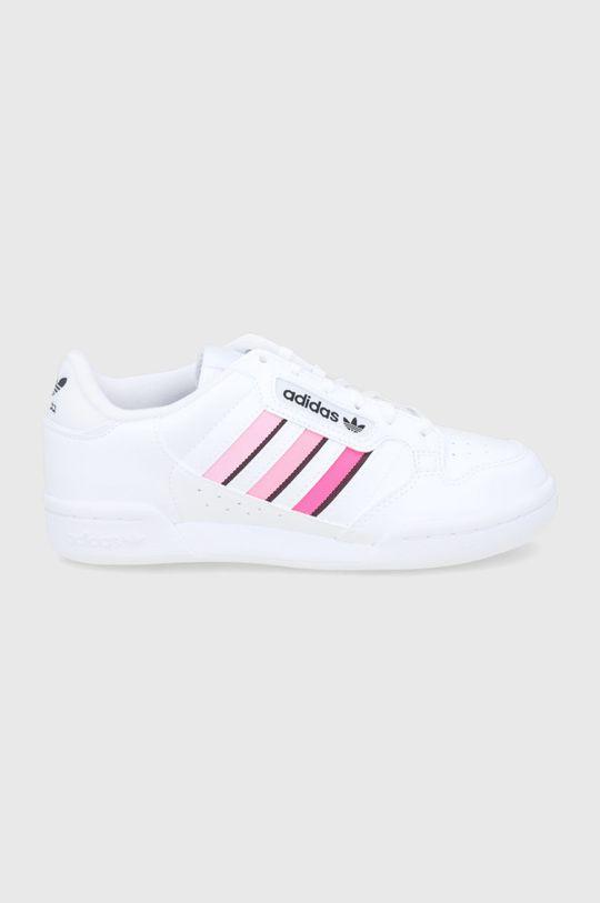 λευκό adidas Originals - Παιδικά παπούτσια Continental 80 Για κορίτσια