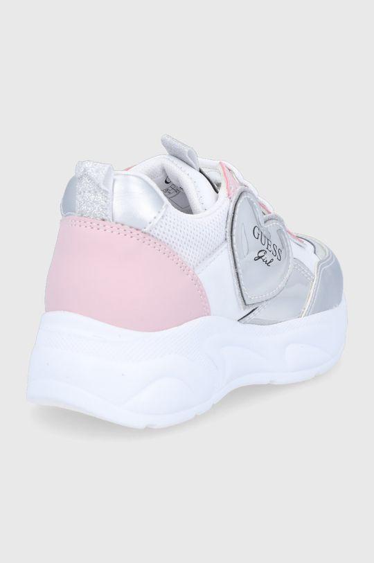 Guess - Dětské boty  Svršek: Umělá hmota, Textilní materiál, Přírodní kůže Vnitřek: Textilní materiál, Přírodní kůže Podrážka: Umělá hmota