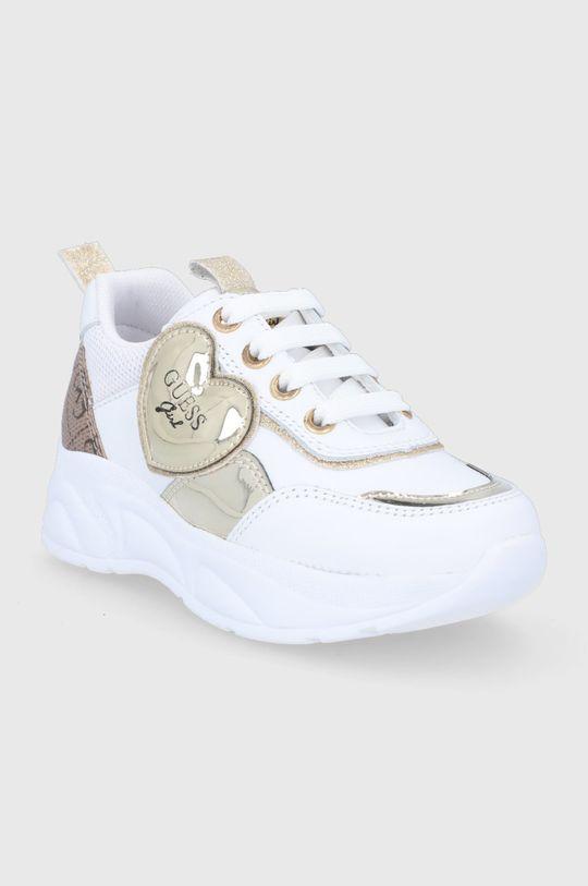 Guess - Buty dziecięce biały