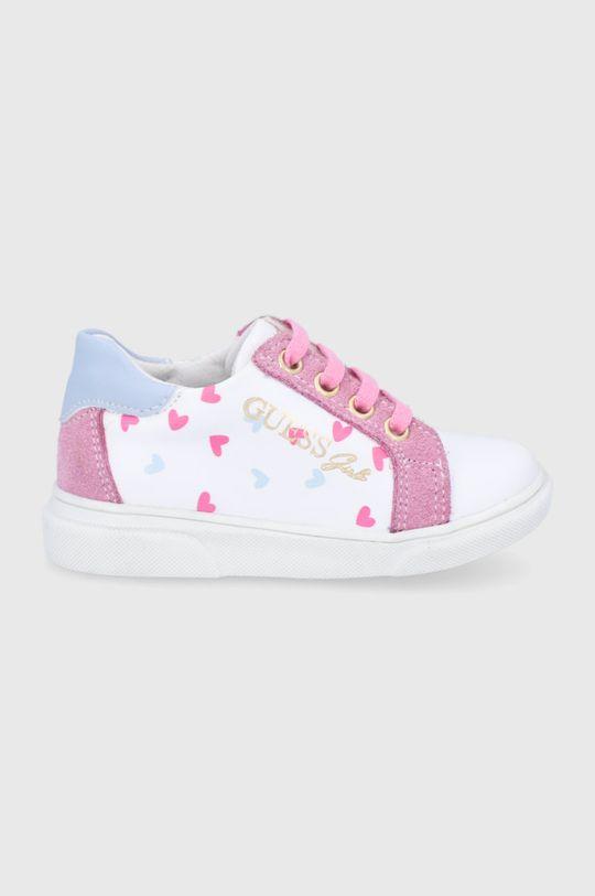 bílá Guess - Dětské boty Dívčí