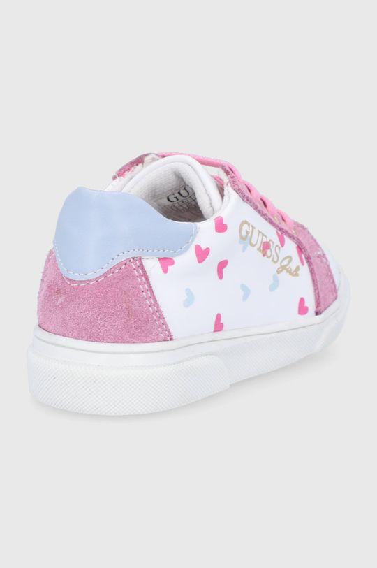 Guess - Dětské boty  Svršek: Umělá hmota, Přírodní kůže Vnitřek: Textilní materiál Podrážka: Umělá hmota