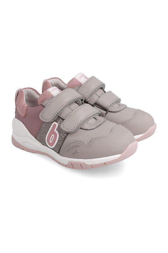 różowy Biomecanics - Buty skórzane dziecięce Dziewczęcy