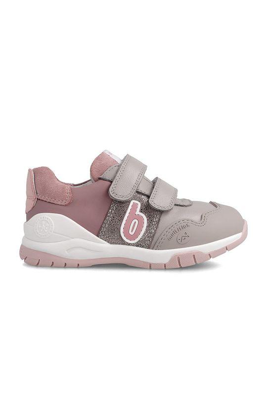 Biomecanics - Buty skórzane dziecięce różowy