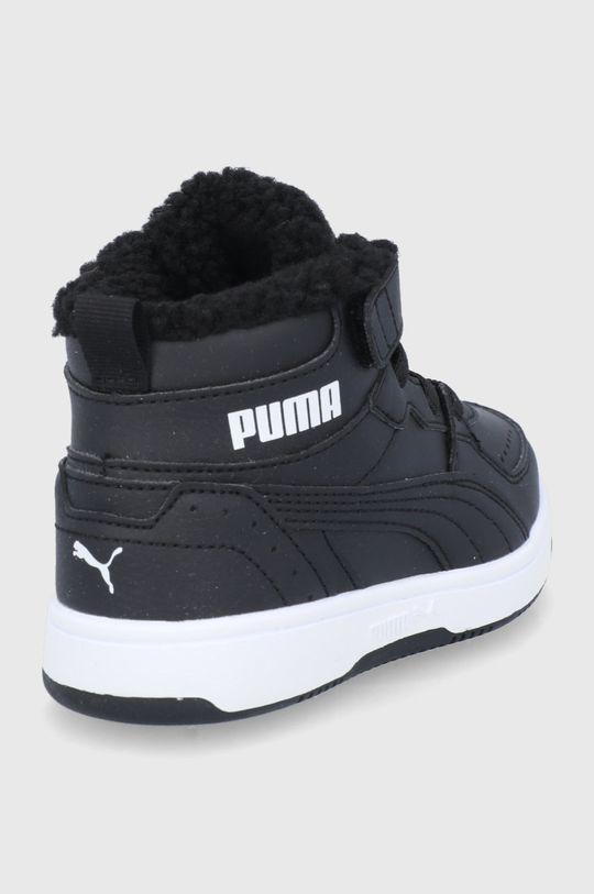 Puma - Buty dziecięce Rebound Joy Fur Cholewka: Materiał syntetyczny, Wnętrze: Materiał tekstylny, Podeszwa: Materiał syntetyczny