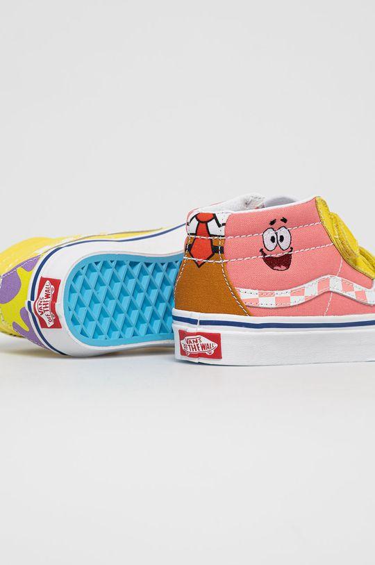 Vans - Dětské tenisky x Spongebob  Svršek: Textilní materiál, Přírodní kůže, Semišová kůže Vnitřek: Textilní materiál Podrážka: Umělá hmota