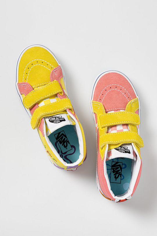 růžová Vans - Dětské tenisky x Spongebob